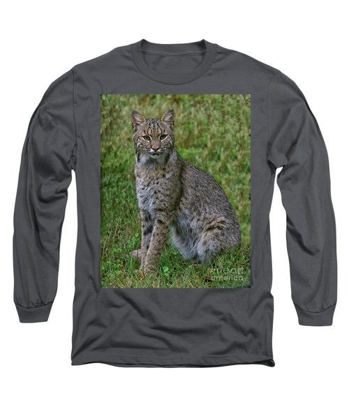Bobcat On Alert Long Sleeve T-Shirt