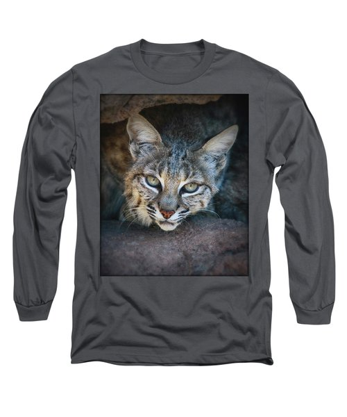 Bobcat Stare Long Sleeve T-Shirt