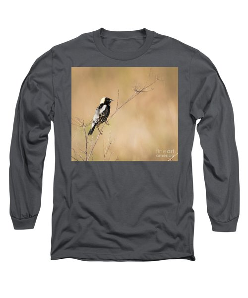 Long Sleeve T-Shirt featuring the photograph Bobolink  by Ricky L Jones