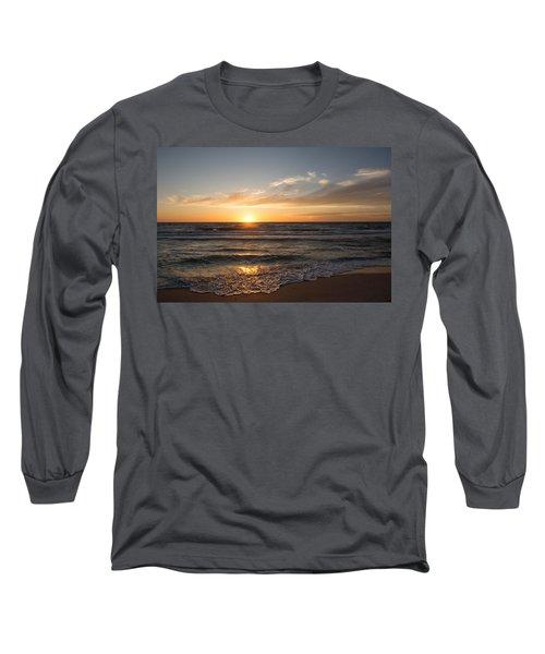 Boca Grande Sunset Long Sleeve T-Shirt by John Black