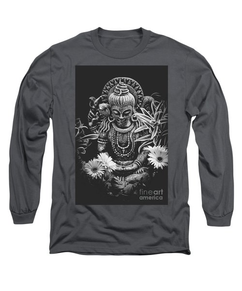 Long Sleeve T-Shirt featuring the photograph Bodhisattva Parametric by Sharon Mau