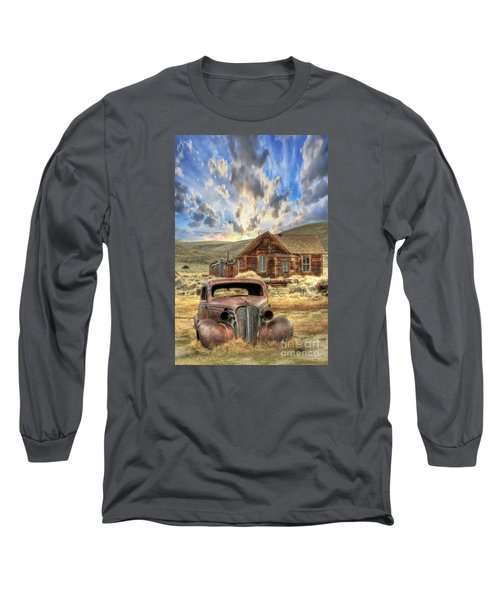 Bodie Ghost Town Long Sleeve T-Shirt by Benanne Stiens