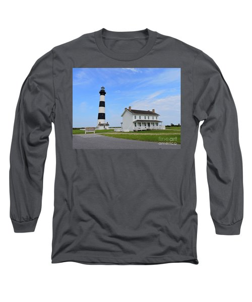 Bodie Island Lighthouse Long Sleeve T-Shirt