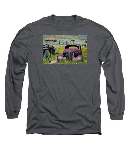 Bodie Rust Long Sleeve T-Shirt