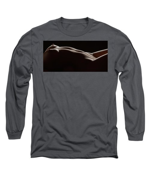 Bodyscape 254 Long Sleeve T-Shirt by Michael Fryd