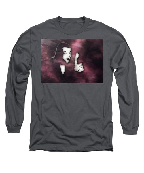 Bogart And Bacall Long Sleeve T-Shirt