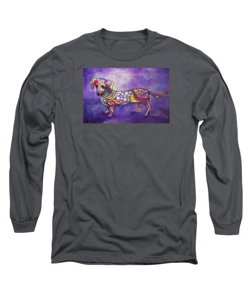 Dachshund Long Sleeve T-Shirt by Patricia Lintner