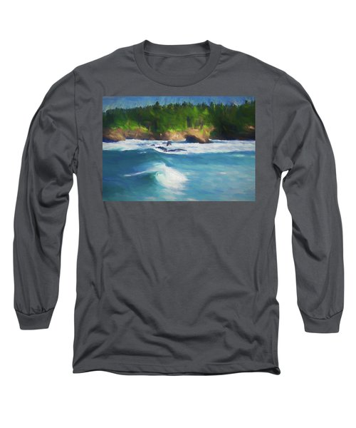 Boiler Bay Blues Long Sleeve T-Shirt