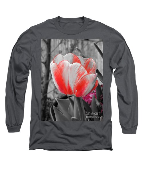 Bold Tulip Long Sleeve T-Shirt