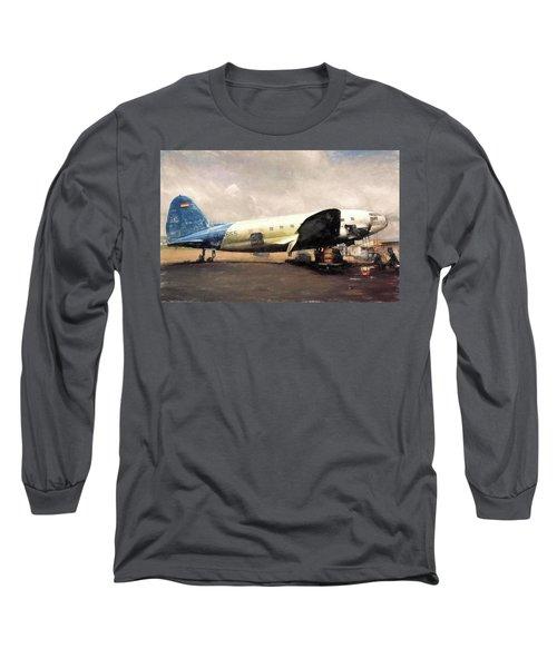 Bolivian Air Long Sleeve T-Shirt by Michael Cleere