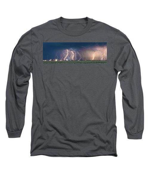 Bolts Over Bushland Long Sleeve T-Shirt