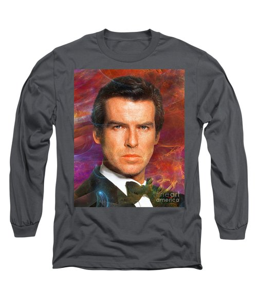 Bond - James Bond 5 Long Sleeve T-Shirt by John Robert Beck