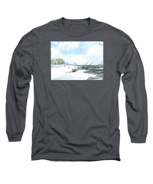 Bone Yard At Capers Island Long Sleeve T-Shirt