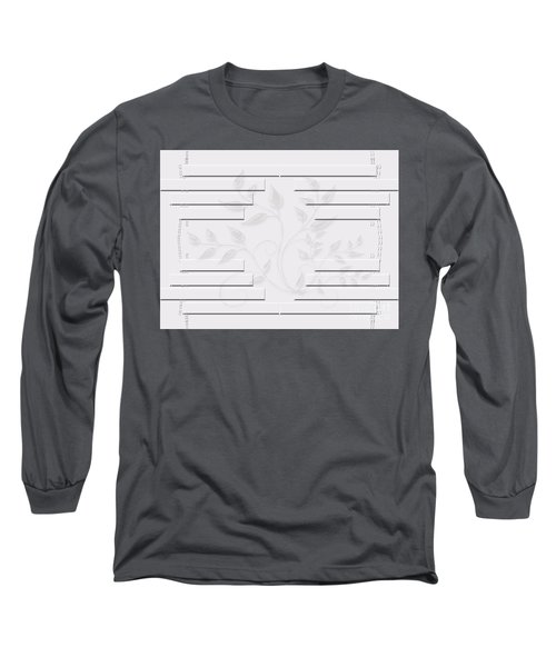 Long Sleeve T-Shirt featuring the photograph Bonjour Leaves Mass by Rockin Docks Deluxephotos