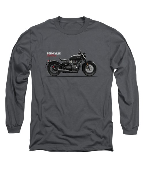 Bonneville Bobber Long Sleeve T-Shirt