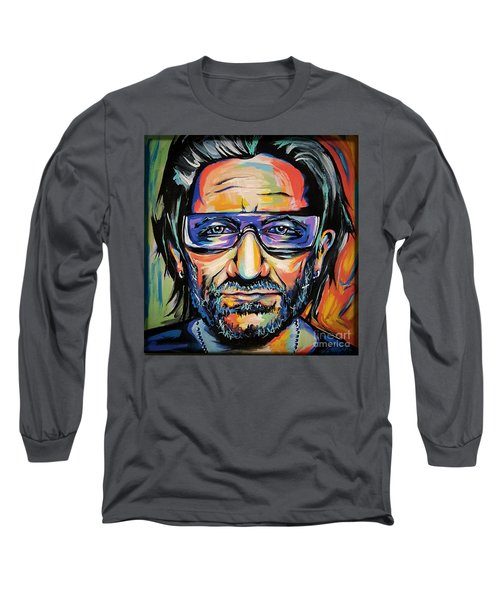 Bono Long Sleeve T-Shirt by Amy Belonio