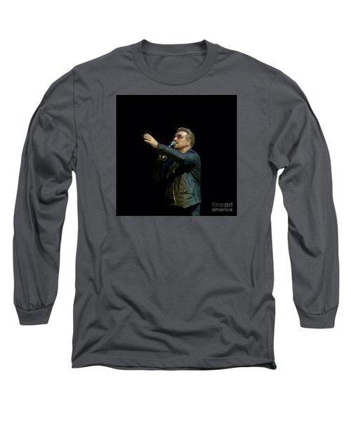 Bono - U2 Long Sleeve T-Shirt