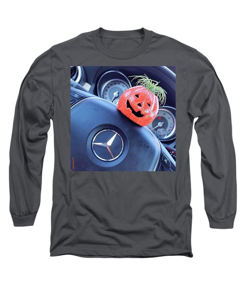 #boo! My #car Is Getting Excited About Long Sleeve T-Shirt