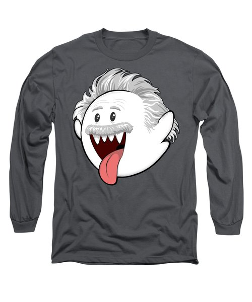Boo-stein Long Sleeve T-Shirt by Olga Shvartsur