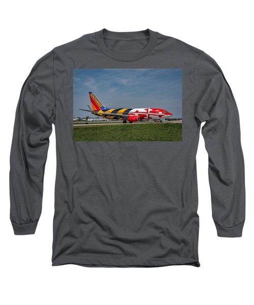 Boeing 737 Maryland Long Sleeve T-Shirt
