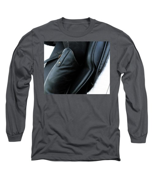 Long Sleeve T-Shirt featuring the photograph Boot Top by Roena King