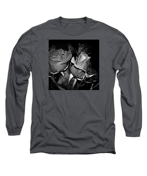 Boquet Of Roses Long Sleeve T-Shirt by Ester  Rogers