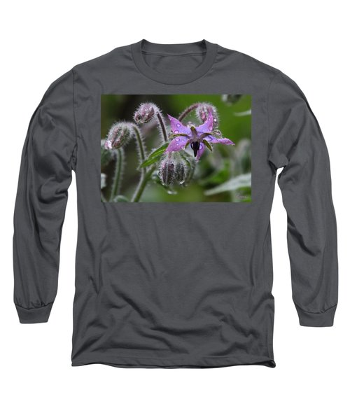 Borage Umbrella Long Sleeve T-Shirt