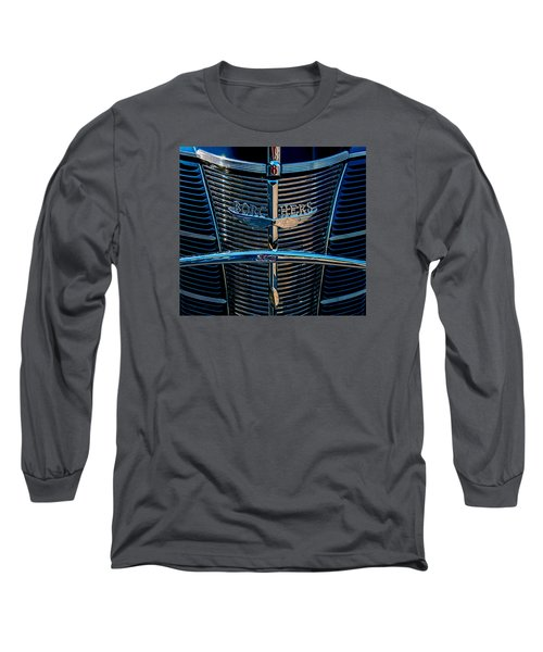 Long Sleeve T-Shirt featuring the photograph Borchers Ford V8 by Trey Foerster