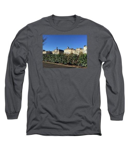 Bordeaux Beauty Long Sleeve T-Shirt