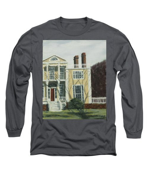 Boscobel In Winter Long Sleeve T-Shirt