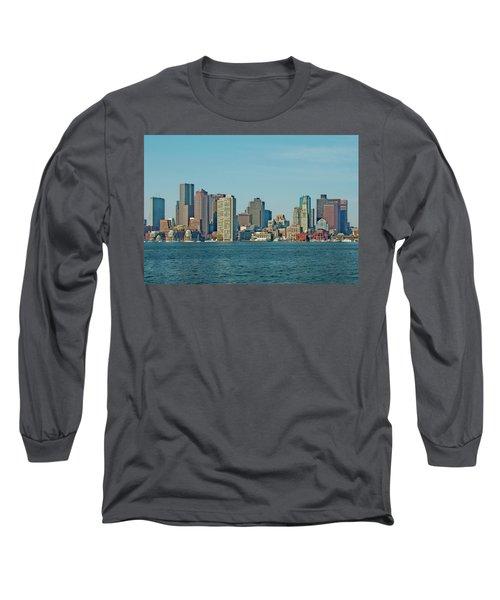 Boston Architecture Long Sleeve T-Shirt
