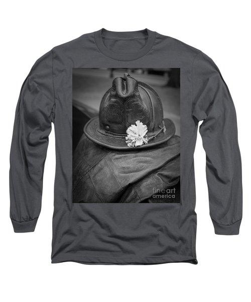 Boston Fireman Memorial Back Bay Long Sleeve T-Shirt