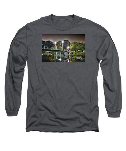 Boston Public Garden Long Sleeve T-Shirt by Brendan Reals