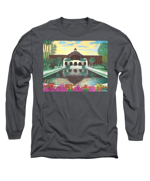 Botanical Building In Balboa Park 01 Long Sleeve T-Shirt
