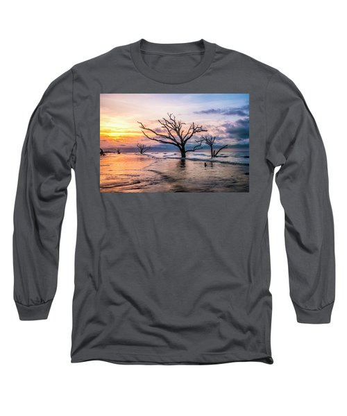Botany Bay Dawn Long Sleeve T-Shirt by Phyllis Peterson