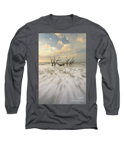 Botany Bay In South Carolina Long Sleeve T-Shirt