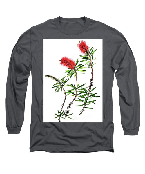 Bottle Brush Long Sleeve T-Shirt