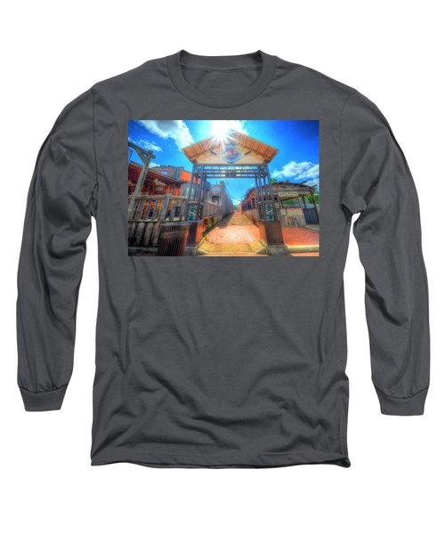 Bottle Cap Alley Long Sleeve T-Shirt