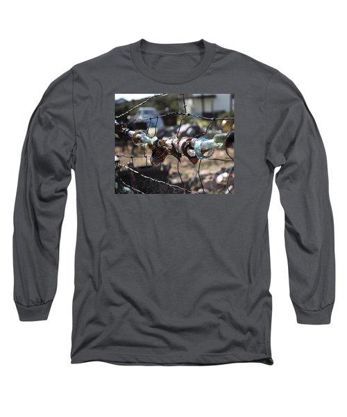 Bottle Fence Long Sleeve T-Shirt