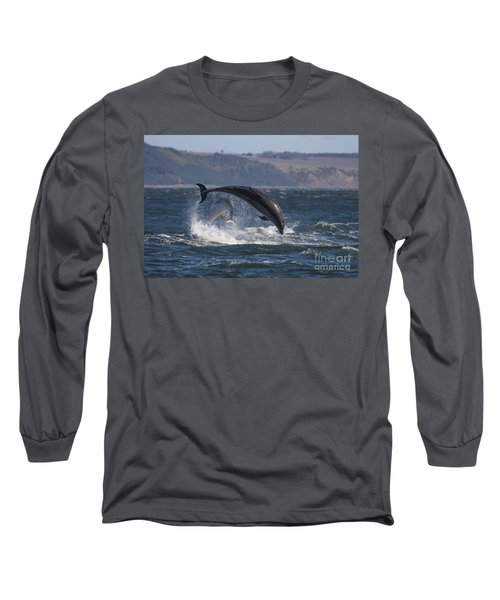 Bottlenose Dolphins - Scotland  #25 Long Sleeve T-Shirt
