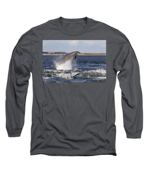 Bottlenose Dolphin - Scotland  #26 Long Sleeve T-Shirt