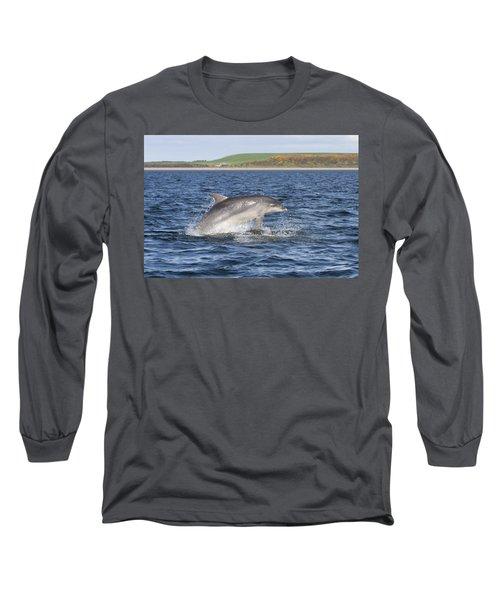 Bottlenose Dolphin - Scotland  #32 Long Sleeve T-Shirt