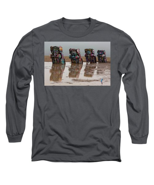 Long Sleeve T-Shirt featuring the photograph Bottoms Up by Stephen Stookey