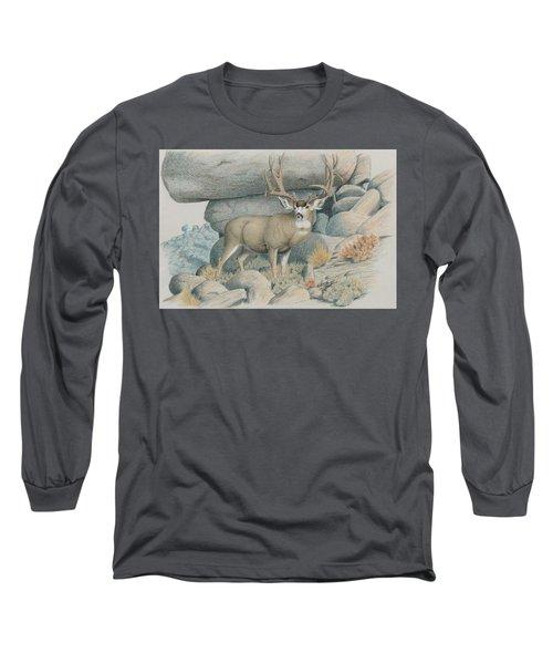 Boulder Buck  Long Sleeve T-Shirt