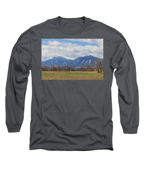 Long Sleeve T-Shirt featuring the photograph Boulder Colorado Prairie Dog View  by James BO Insogna