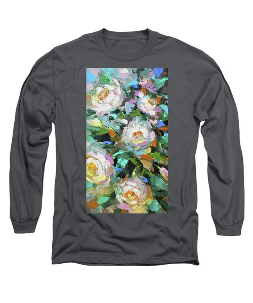Bouquet Of Peonies  Long Sleeve T-Shirt by Dmitry Spiros