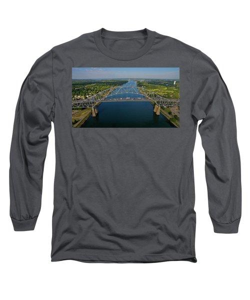 Bourne Bridge, Ma Long Sleeve T-Shirt