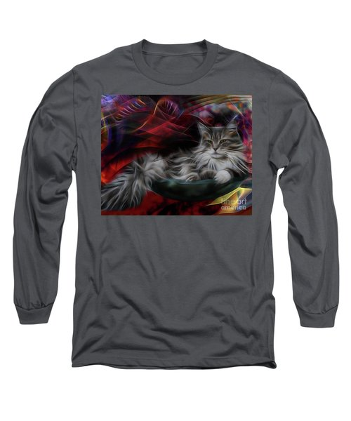 Bowl Of More Fur Long Sleeve T-Shirt
