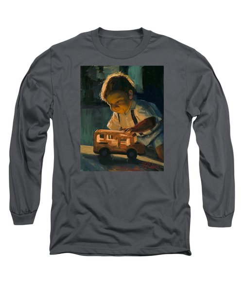 Boy And Their Toys Long Sleeve T-Shirt