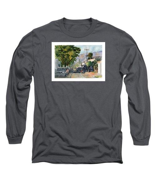 Boy With Bike, Mx Long Sleeve T-Shirt